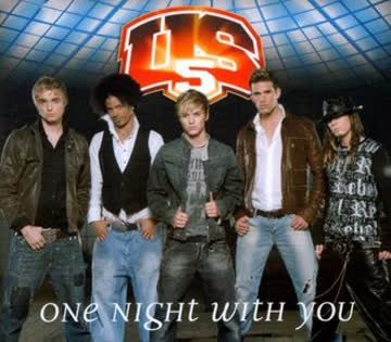 Us5 - One Night With You (2 Track)