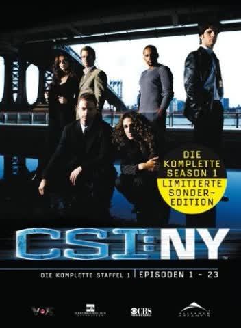 CSI: NY - Die komplette Season 1 (6 DVDs)