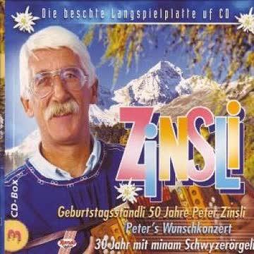 Peter Zinsli - Die beschte Langspielplatte uf CD