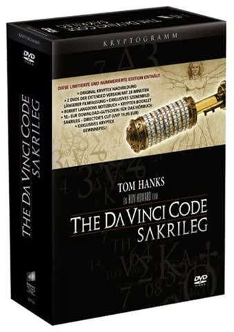The Da Vinci Code - Sakrileg - Deluxe Extended Edition (2 DVDs) [Limited Edition]