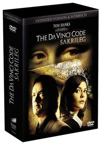 The Da Vinci Code - Sakrileg (Extended Version, 2 DVDs + Hörbuch)