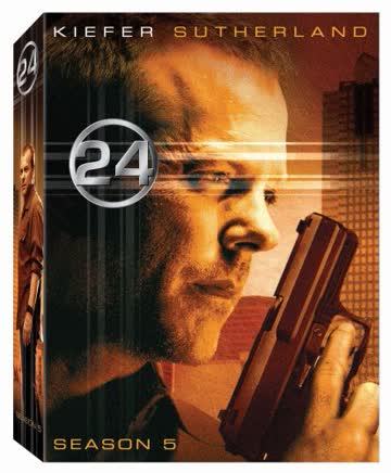 24: Season Five [DVD] (2006) Kiefer Sutherland; Mary Lynn Rajskub; Kim Raver (japan import)