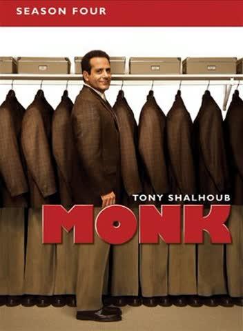 Monk - 4. Staffel [4 DVDs]