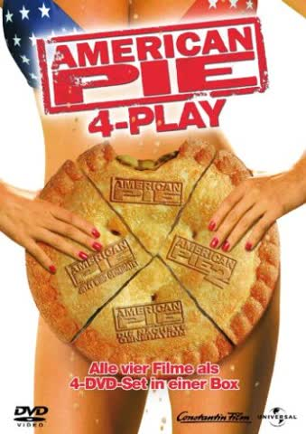American Pie 4-Play [4 DVDs]