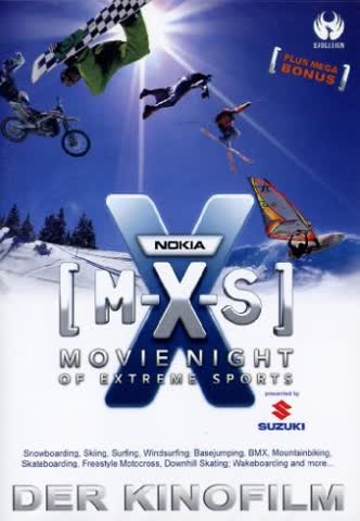M-X-S - Movie Night Of Extreme Sports [Import allemand]