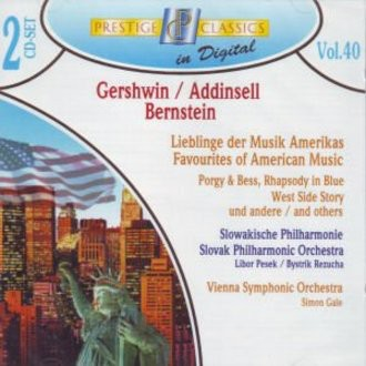 - Gershwin / Addinsell / Bernstein - Lieblinge der Musik Amerikas
