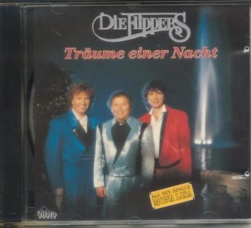 Die Flippers - Träume einer Nacht [CD Album 1991, incl. Mona Lisa, Schenk mir diese Nacht, Santa Monika etc.]