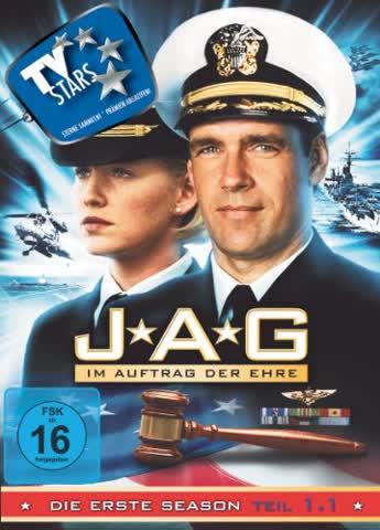 JAG - Im Auftrag der Ehre - Season 1.1 (3 DVDs)