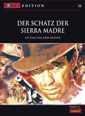 Der Schatz der Sierra Madre [Import allemand]