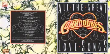 The Commodores - All The Great Love Songs