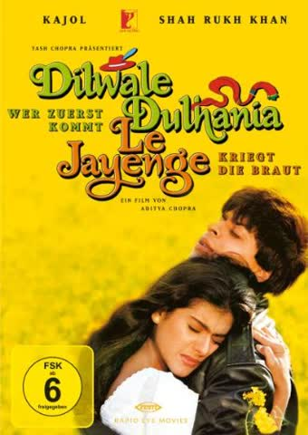 Dilwale Dulhania Le Jayenge - Wer zuerst kommt, kriegt die Braut (2 DVDs)