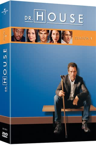 DVD DR. HOUSE STAFFEL 1
