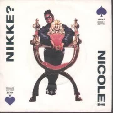 """NIKKE NICOLE - NIKKE NICOLE - NIKKE DOES IT BETTER - [7""""]"""