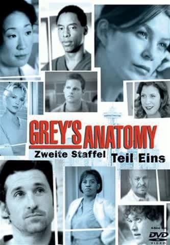 Grey's Anatomy - Die jungen Ärzte - Zweite Staffel, Teil 1 (4 DVDs)