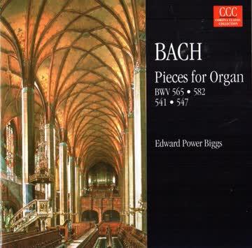 Bach - Pieces for Organ