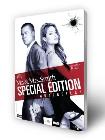 Mr. & Mrs. Smith - Unzensiert (Steelbook) [Special Edition] [2 DVDs]