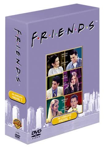 Friends - Die komplette dritte Staffel (4 DVDs)