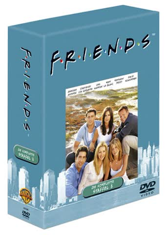 Friends - Die komplette achte Staffel (4 DVDs)