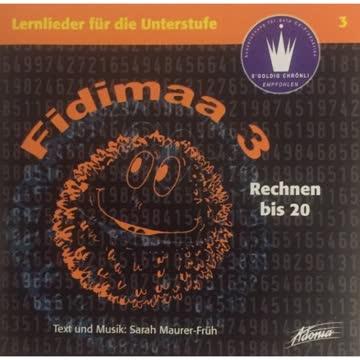 Fidimaa - Rechnen Bis 20. - Lernlieder für Die Unterstufe 3