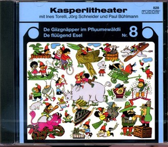 Kasperlitheater 8; Giizgnäpper/Flüügend Esel