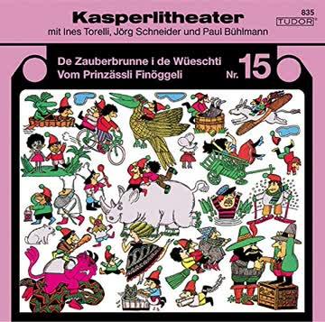 Kasperlitheater 15, Zauberbrunne/Finöggeli