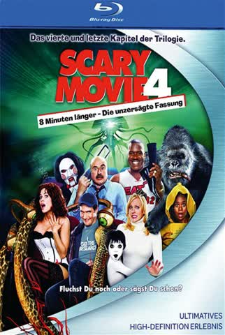 Scary Movie 4 [Blu-ray]