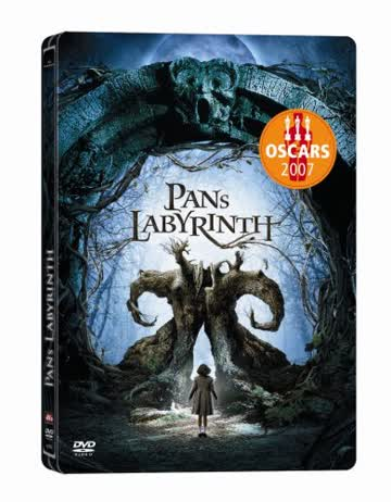 Pans Labyrinth (Einzel-DVD) Steelbook [Import allemand]