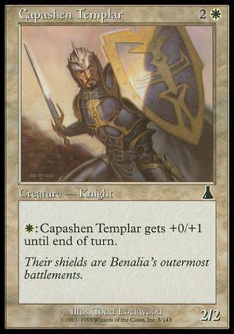 Urzas Schicksal - Tempelritter aus Capashen