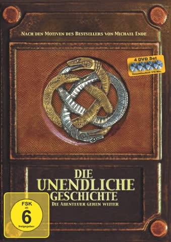 Die unendliche Geschichte - Die Abenteuer gehen weiter (Episode I-IV) [4 DVDs]