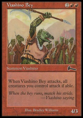 Urzas Vermächtnis - Viashino-Bey