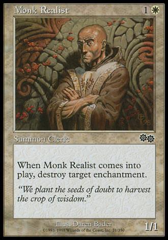 Urzas Saga - Zweifelnder Mönch