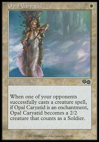 Urzas Saga - Opalene Caryatide