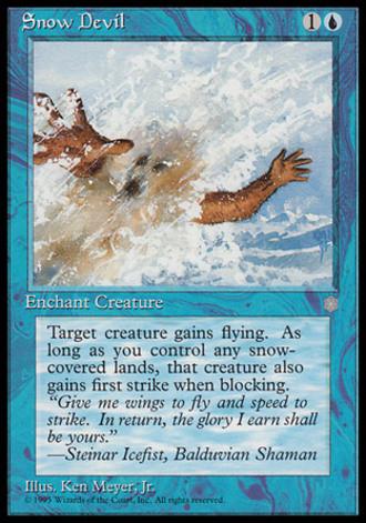 Eiszeit - Schneeteufel