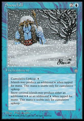 Eiszeit - Schneeschauer