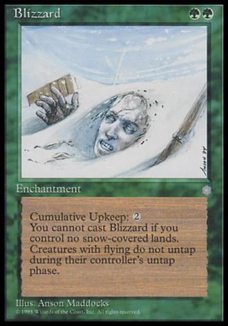 Eiszeit - Blizzard