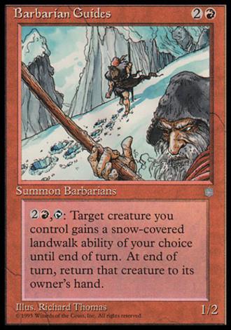 Eiszeit - Barbarische Führer