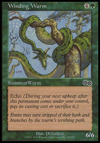 Urzas Saga - Schlängelnder Wurm