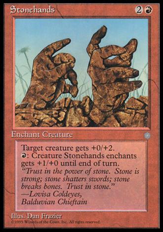 Eiszeit - Steinhände
