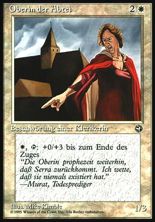 Heimatländer - Oberin der Abtei