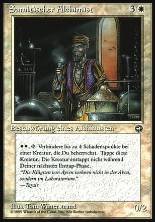 Heimatländer - Samitischer Alchimist
