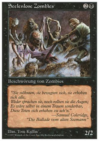 Fünfte Edition - Seelenlose Zombies