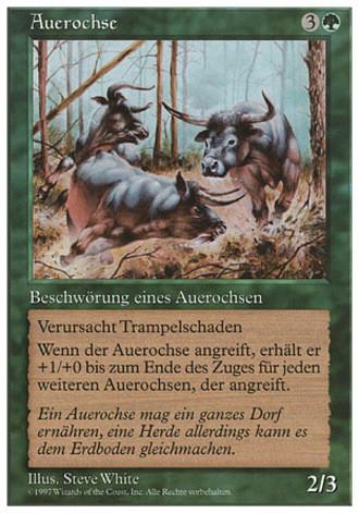 Fünfte Edition - Auerochse