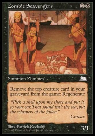 Wetterlicht - Leichenfleddernde Zombies