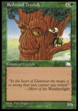 Wetterlicht - Baumvolk der Rotholzigen