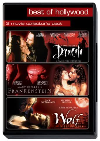 Dracula / Frankenstein / Wolf - Best of Hollywood (3 DVDs)