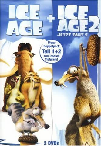 Ice Age / Ice Age 2 - Jetzt taut's [2 DVDs]
