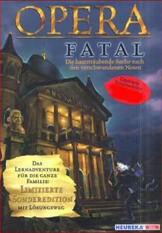 Opera fatal: Die haarsträubende Suche nach den verschwundenen Noten - Limitierte Sonderedition mit Lösungsweg