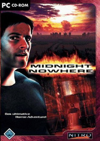 Midnight Nowhere, CD-ROM Horror-Adventure. Für Windows 98SE/ME/2000(SP4)/XP