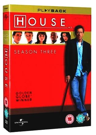 Dr. House - Season 3 (UK Import)
