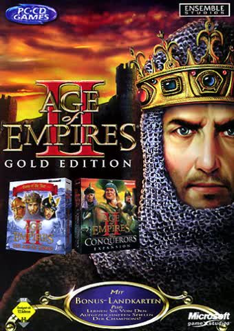 Age of Empires 2 - Gold Edition 2.0 (DVD-Verpackung)
